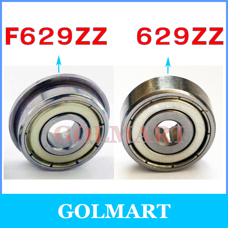 10 pcs 629zz  9*26*8  9x26x8mm Metal Shielded Ball Bearing Bearings