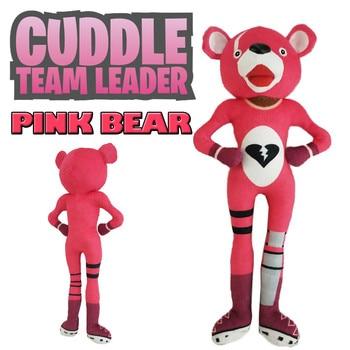 30cm Adorable Playful Irresistible Cartoon Soft Pink Bear Doll Stuffed Toy Plush Doll Toys 2018