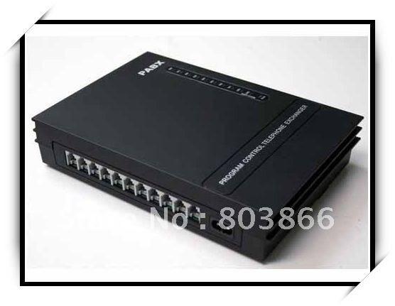 Bonne qualité-MINI PBX échange téléphonique 3 lignes et 8 Extensions-SV308