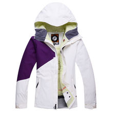 Cheap Brand Snow Woman Ski snowboard Colorful Clothing skiing suit Jackets outdoor sports Costume Winter Jacket Warm Costume