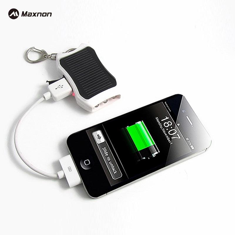 MAXNON 1200mAh Solar Keychain Solar Mobile Charger Backup External <font><b>Battery</b></font> case Pack Solar Power Bank For iPhone <font><b>Cellphones</b></font>