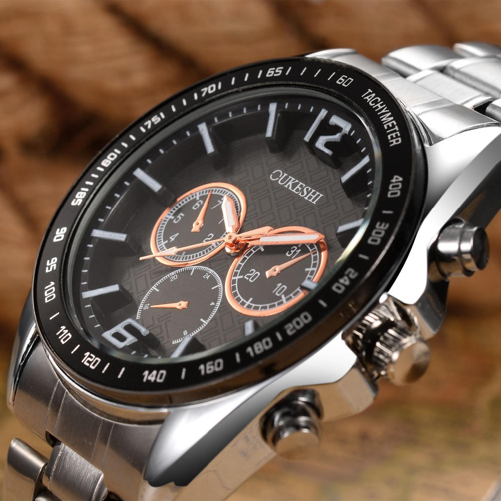 Watches Men Top Luxury Brand OUKRSHI Waterproof Date Clock Male Full Steel Casual Quartz Sport Wrist Watch Relogio Masculino ewt c 220tls керамический обогреватель