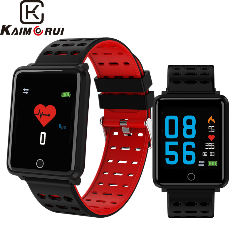 Fitness Tracker Watch Color Screen Heart Rate Monitor Smart Watch Bluetooth Smart Bracelet Pedometer Changeable Band