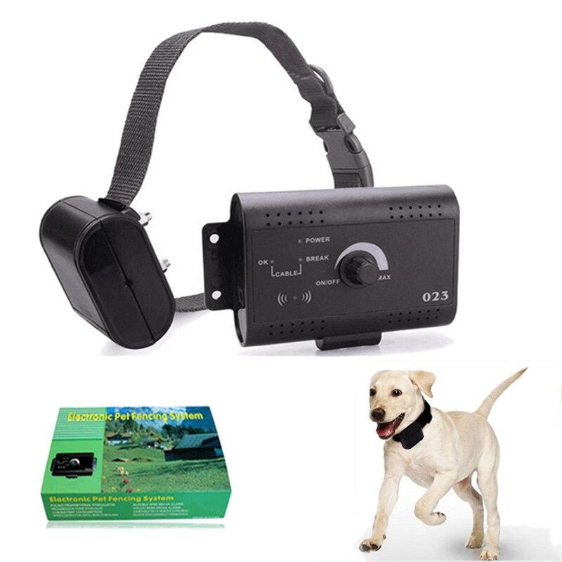New Sicurezza Pet Dog in Recinto Elettrico Con Impermeabile Collare di Addestramento Del Cane Elettronico Sepolto Cane Elettrico Sistema di Recinzione di ContenimentoNew Sicurezza Pet Dog in Recinto Elettrico Con Impermeabile Collare di Addestramento Del Cane Elettronico Sepolto Cane Elettrico Sistema di Recinzione di Contenimento