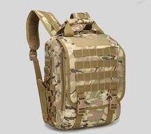 Планшеты компьютер, сумка на плечо, военная тактика, камуфляжный рюкзак, открытый небольшой водонепроницаемый рюкзак