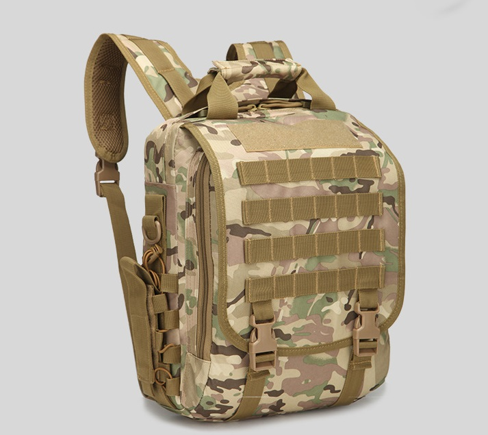 Tablet computer, shoulder bag, military tactics, camouflage knapsack, outdoor small waterproof knapsack tactical outdoor one shoulder knapsack bag coyote tan 28l