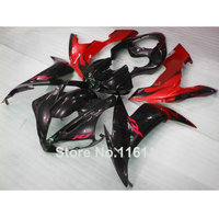 high grade full fairing kit for YAMAHA YZF R1 2004 2005 2006 red black fairings set R1 04 05 06 3242 Full injection