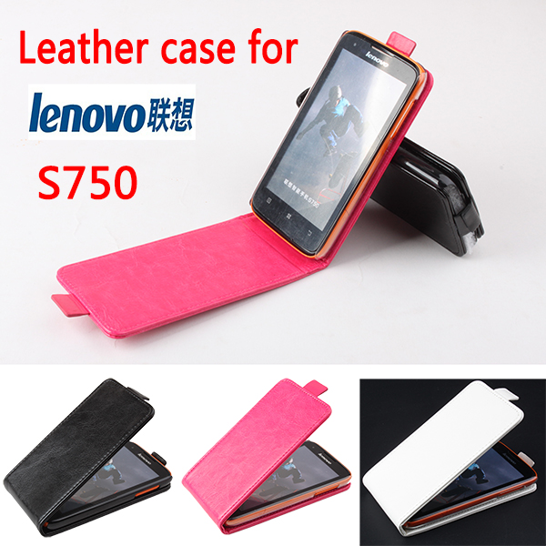 Luxury RetroVintage Flip Case for <font><b>Lenovo</b></font> <font><b>S750</b></font> Leather Phone Case Holder for <font><b>Lenovo</b></font> <font><b>S750</b></font> Protective Cover shell coque funda skin image