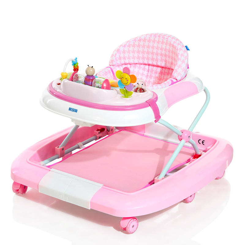 Hot Selling Children Baby Walker Multifunctional Anti Rollover U-shaped Multifunctional Baby Walkers With Music Plate щипцы для волос braun st 310