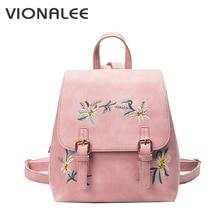 Цветочные девочка сумка женская винтажная школьная Женская сумка Школа небольшой женский женские черные рюкзак корейский рюкзак