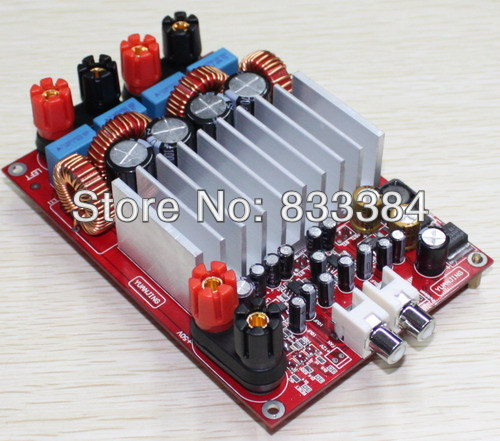 TAS5630 300W+300W Class D stereo amplifier Assembled Board Highly Recommend assembled tas5630 2 1 digital amplifier board 300w 150w 150w