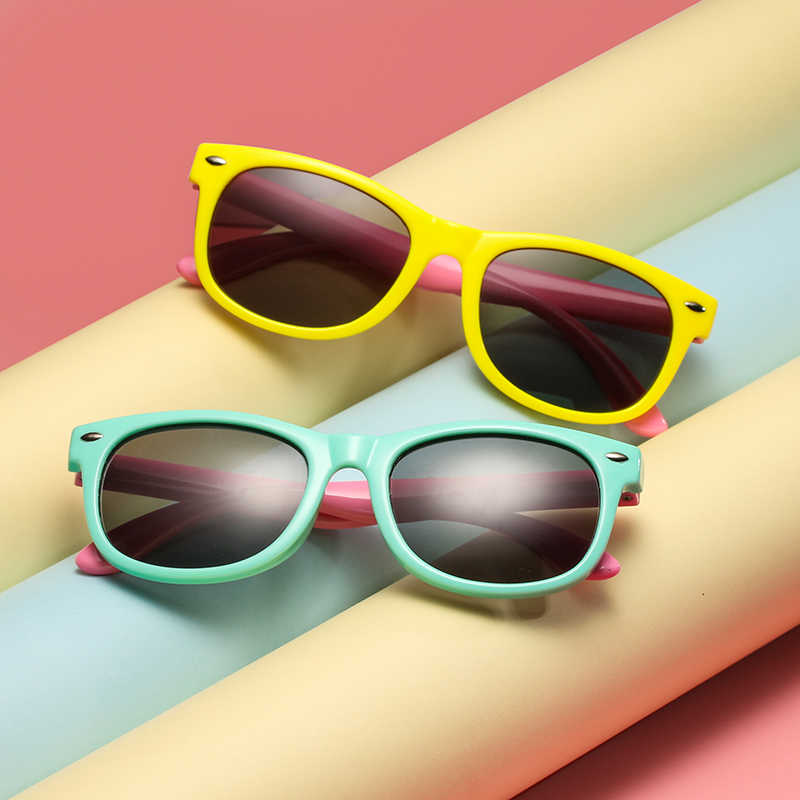 ce7c5da00b4a ... LongKeeper Children Polarized Sunglasses TR90 Baby Classic Fashion  Eyewear Kids Sun glasses boys girls sunglasses UV400 ...