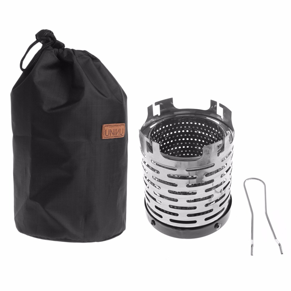 Heater Warmer Stove-Tent Camping-Equipment Mini Outdoor Storage-Bag Useful