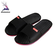 d09ebb62dfcc8 (Ship from US) 2018 New Men Solid Flat Bath Slippers Summer Sandals Indoor  & Outdoor Slippers zapatos hombre Summer Men Shoes Size 41~45