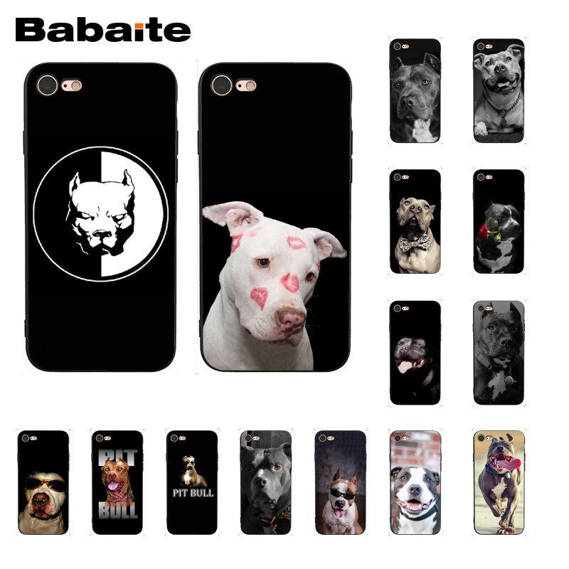 Pit Bull Lovely Pet Dog Pitbull Cover per telefono per iphone 12 11 Pro Max X XS MAX 6 6s 7 7plus 8 8Plus 5s SE XR