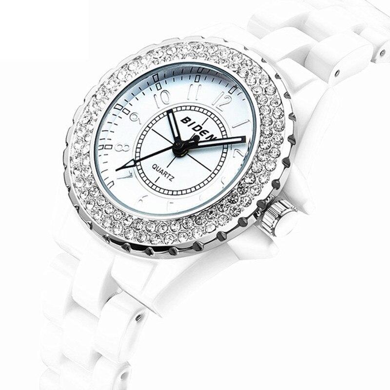 Top Watch Women BIDEN Brand Luxury Fashion Casual Quartz Ceramic Watches Lady Relojes Mujer Women s