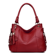 2019 New Fashion Women Handbag Brand Luxury Leather Tote Bags for Women Large Capacity Ladies Hand Bags Shoulder Bag цена