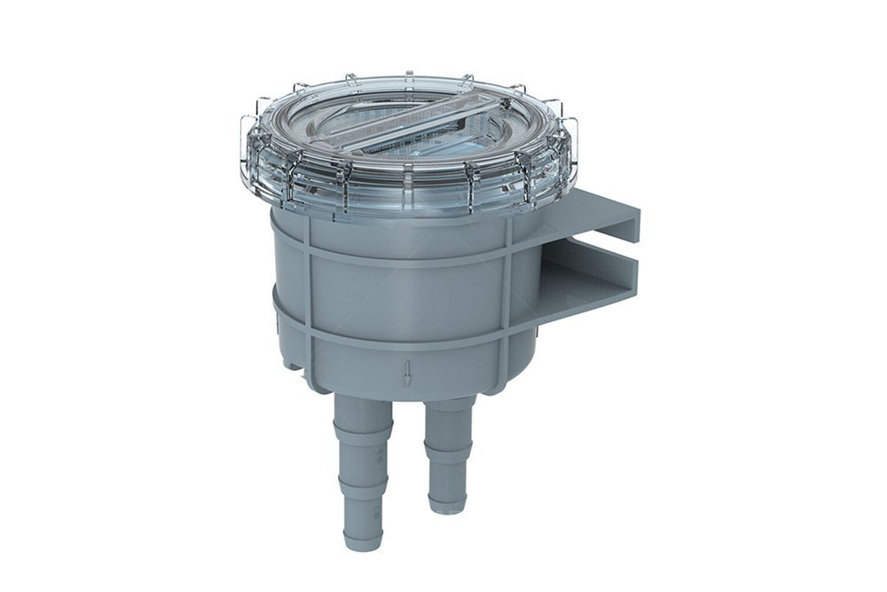 Marine Raw Cooling Water Intake Basket Strainer for Seawater Boat Fits 1 1 25 1 5