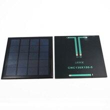 5V 500mA güneş hücreleri epoksi polikristal silikon DIY pil güç şarj modülü küçük güneş panelleri oyuncak