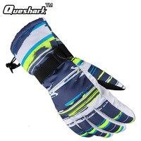 New Winter Waterproof Ski Gloves Chidlren Kids Women Men Skiing Gloves Windproof Breathable Camouflage Anti Skid
