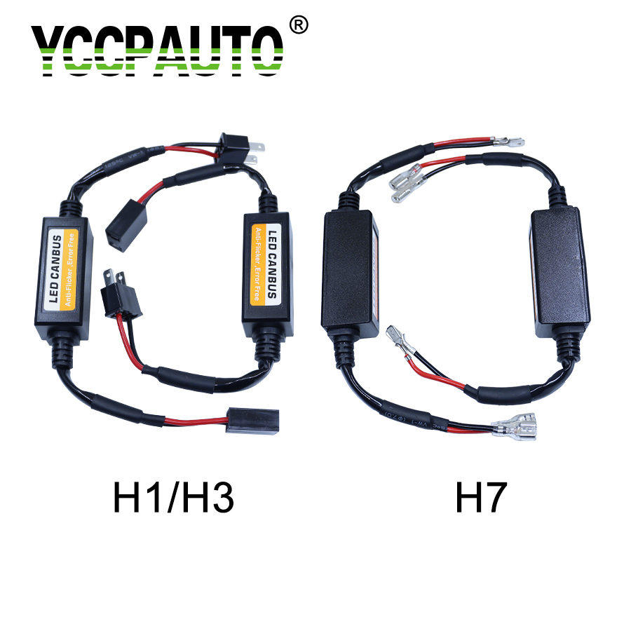 Automobiles & Motorcycles Car Lights Yccpauto Caubus Cable Resistor H7 H4 H8 H1 H3 H11 Hb3 Hb4 9006 9005 Led Canceller Load Error No Flickering Decoder Wire Harness Regular Tea Drinking Improves Your Health