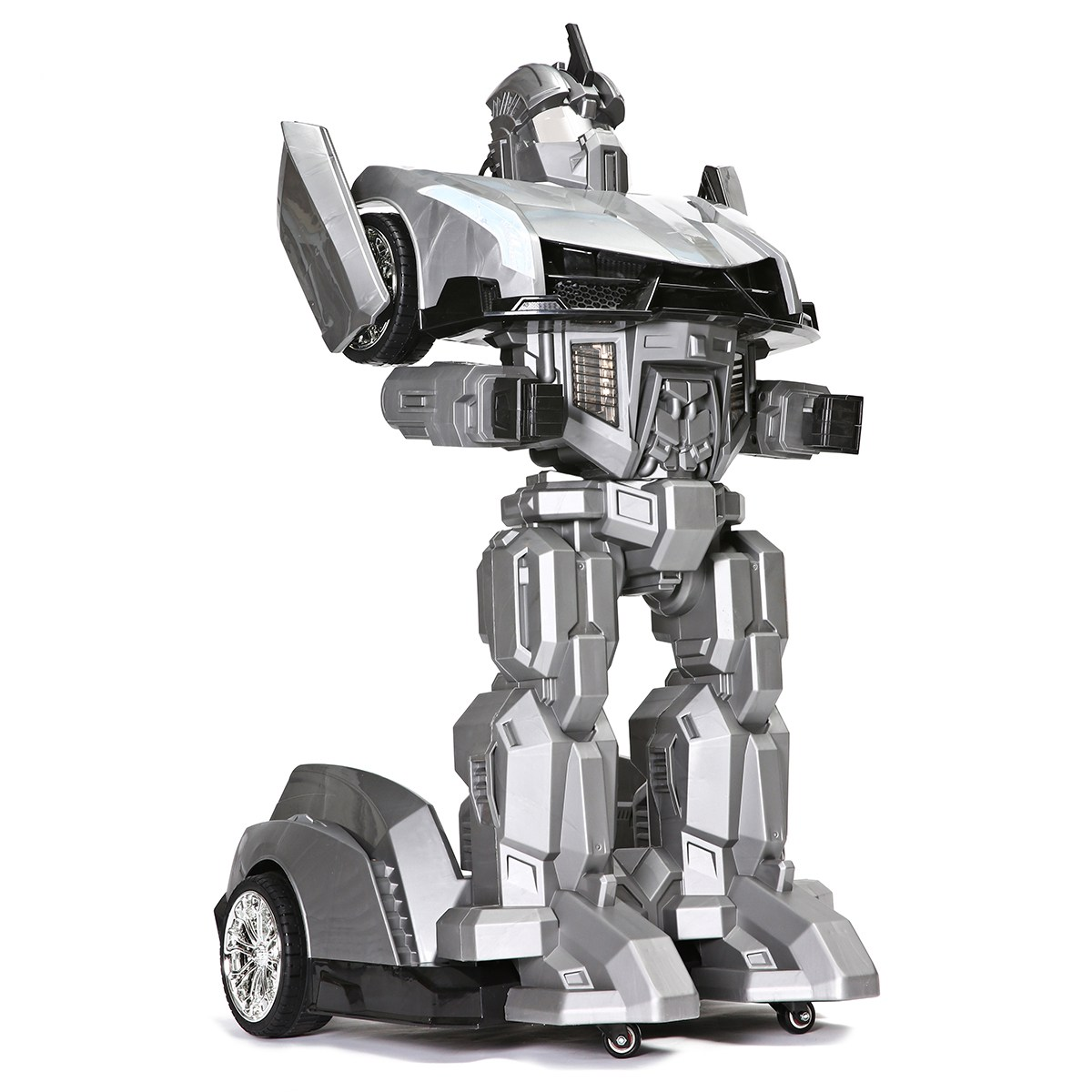 LEORY Transformer Humanoid Robot RC With Led-Headlight 25w-Motor Kids Children'day Gift
