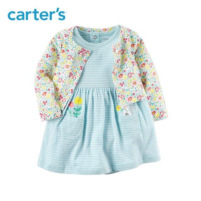 2-Pièce de Carter bébé enfants enfants vêtements Fille Printemps et D été  Coton fc325e8702f