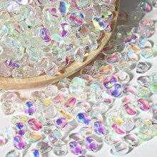 Бусины Из биконусного кристалла и австрийского стекла, 50 шт., 6 х8 мм