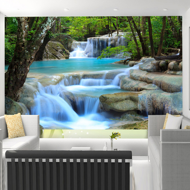 Nature Scene Wall Murals Nice Design · Delightful Nature Scene Wall Murals  Nice Ideas Part 21