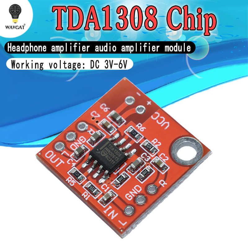 Стерео TDA1308 усилитель для наушников доска гарнитура усилитель предусилитель совета Модуль 3 V-6 V