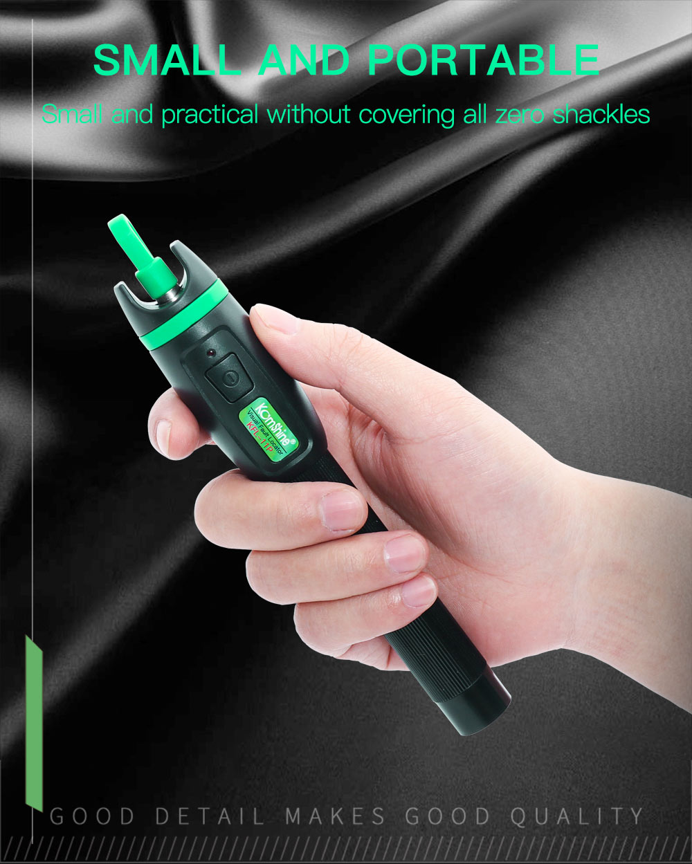 30KM Testing range Pen type Optic Fiber Visual Fault Locator 30mW Komshine KFL 11P 30 Fiber Optic Laser aluminum alloy material-in Fiber Optic Equipments from Cellphones & Telecommunications