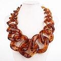 Модные ювелирные изделия ожерелье Большой Цепи Леопард цвет цепи ожерелье