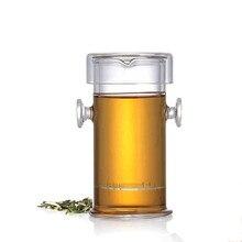 Neue 220 ML hitzebeständigem Glas Teekanne Chinesischen Kung Fu Blume Teekanne Mit Filter Wasserkocher Sets Pote De Vidro