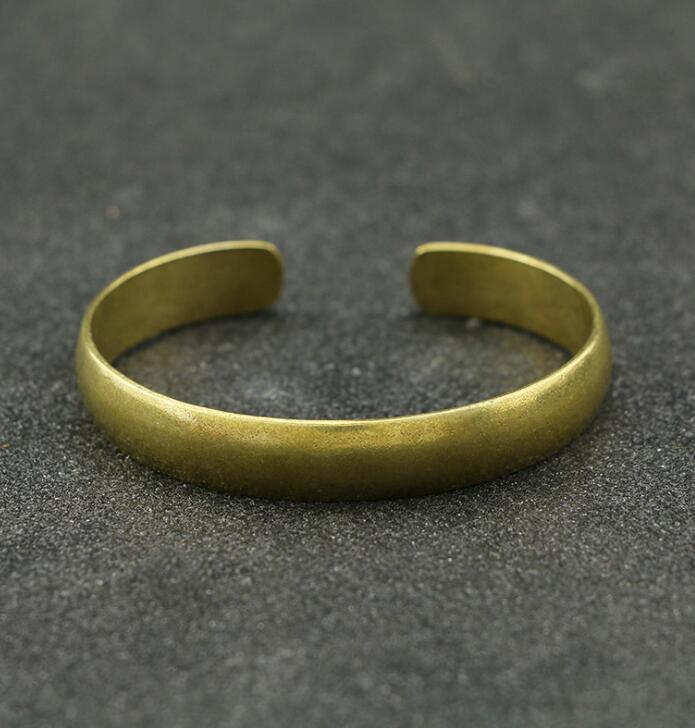 Collectable  Chinese Pure Brass Carved  Lucky Bracelet  Exquisite Small  Statues