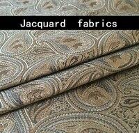 Golden fashion waist jacquard fabric high end evening dress elegant fabric