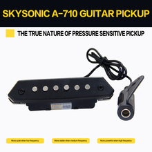 где купить Skysonic A-710 Above 90mm Sound-hole Magnetic Passive Pickup for Acoustic Guitar Fingerstyle, playing, solo дешево