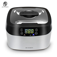 1.2L SKYMEN Portable Digital Ultrasonic Cleaners Basket Sterilizer Cleaner Sterilizing Nail Tools Bath Disinfection Machine New