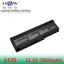 7800MAH 9CELLS NEW laptop battery for DELL Inspiron 1420 PP26L,Vostro 1400 FT080 FT092 FT095 KX117 MN151 MN154 NB331