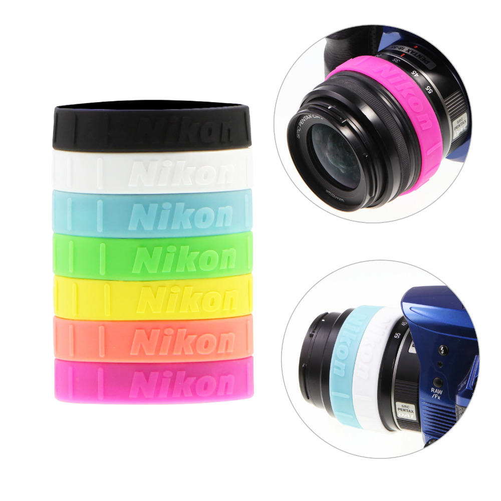 Lens Band Stop Zoom Creep for Zoom Lenses White
