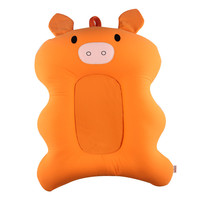 Cartoon Portable Baby Shower Air Cushion Bed Infant Bath Pad Non Slip Bathtub Mat Newborn Safety Security Support Soft Pillow