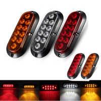 2 stücke 6 LED 10LED Auto Seite Marker Autos Montage Dekoration Lichter LED Rücklicht Hinten Lampen Paar Boot Anhänger bremse D45