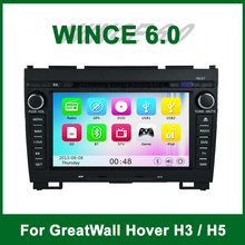 Touch screen Car DVD Video Player for Great Wall Haval Hover H3 / H5 with Radio Bluetooth GPS support Ipod 3G Wifi TV