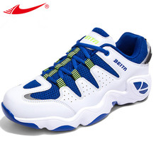 Man's basketball shoes of outdoors sports training athletic sneakers breathable comfortable cushioning low-top tenis de basquete
