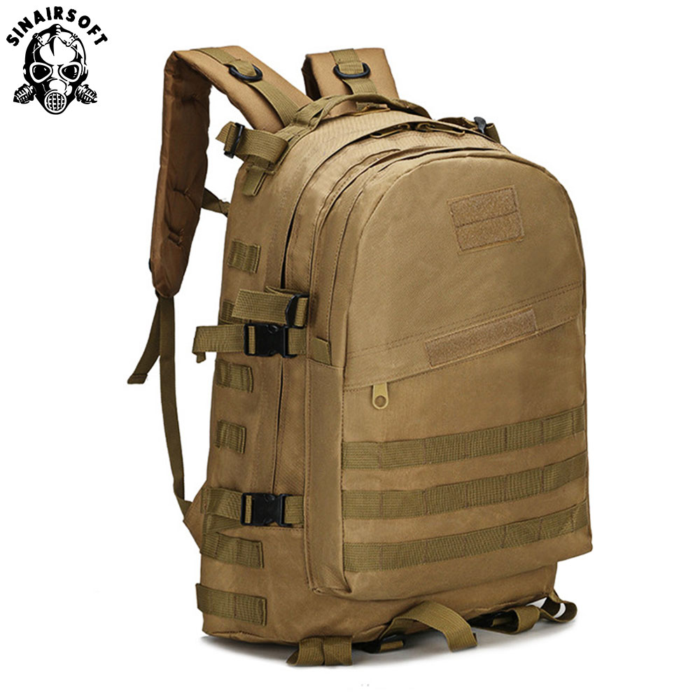 SINAIRSOFT 3D Molle Tactical Backpack climbing Military Camping Hiking Trekking Rucksack Travel Outdoor Bag 40L LY0006