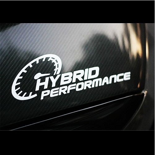 car decals performance 25cm x 8cm car motorcycle reflective waterproof stickers in Car Stickers from Automobiles Motorcycles