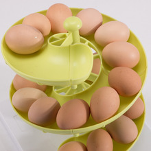 . New Arrival Plastic Egg Baskets Spiral Racks Kitchen Storage Racks Egg Storage Boxes And Racks