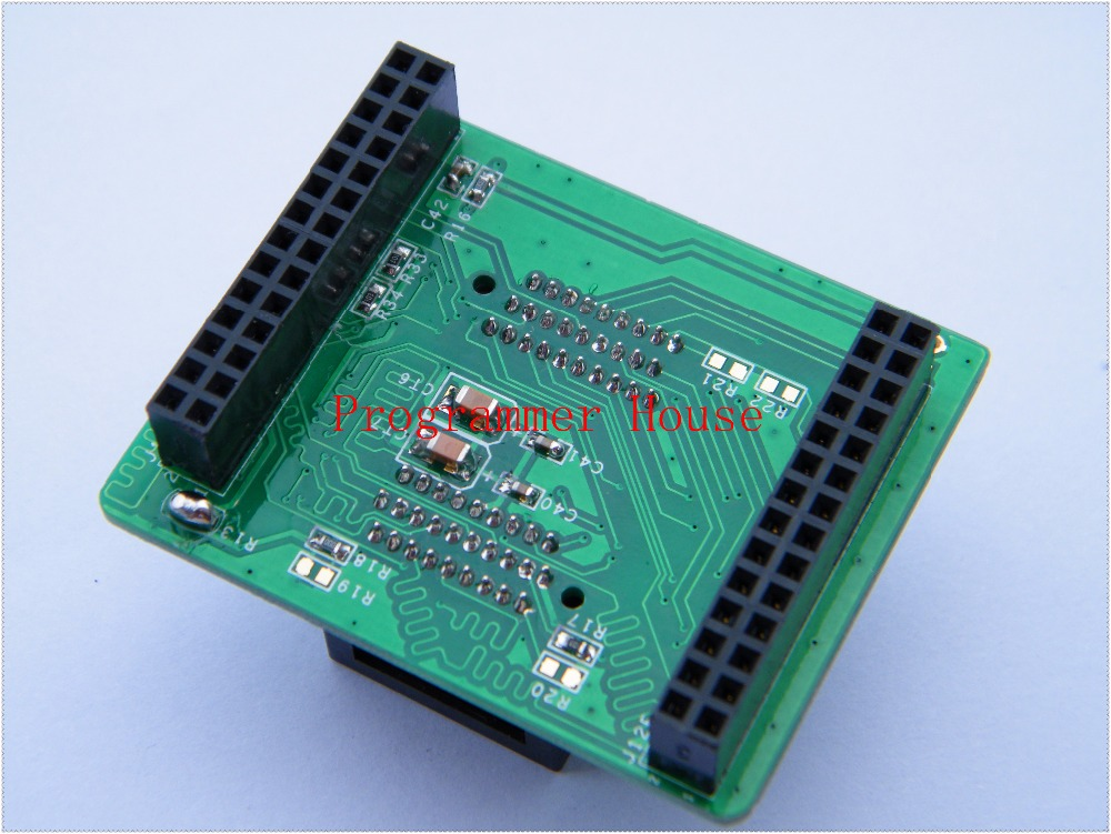 Free shipping newest TSOP48&56 TSOP56 golden pins adapter for NAND ProMan  TL86_plus Professional programmer