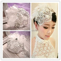 New Arrival Bridal Birdcage Pearls and Crystal With Tassel Handmade Wedding Headdress