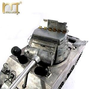 Image 4 - 마토 금속 탱크 모델 실행 준비 100% 금속 M36B1 RC 탱크 파괴자 적외선 리코일 버전