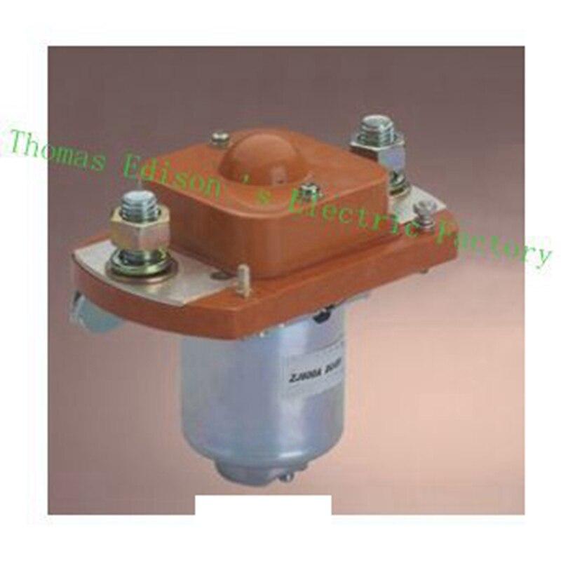 ZJ600A без (обычно открытым) 12 В 24 В 36 В 48 В 60 В 72 В 600A Dc контактор для двигателя вилочного электромобиль захватить Wehicle автомобиль лебедка